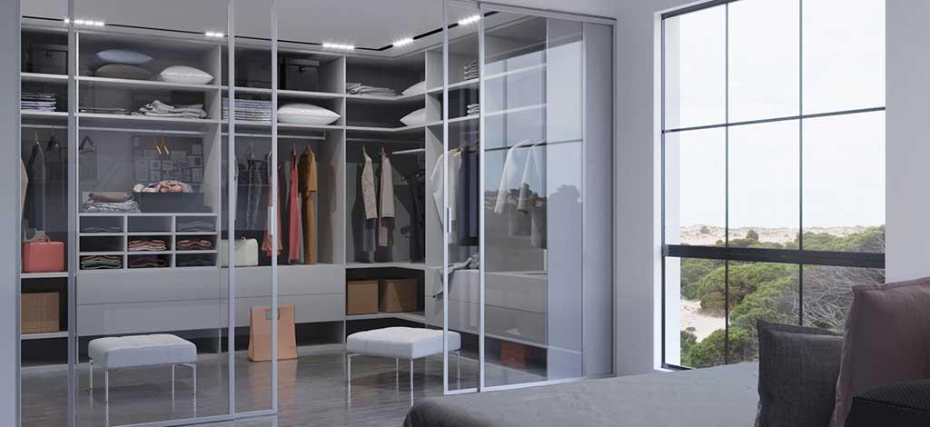 חדר ארונות בעיצוב עדכני