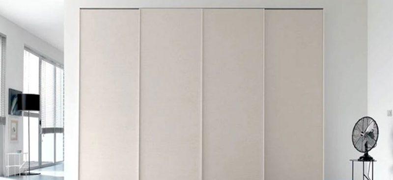 ארון הזזה עיצוב אלגנטי קו נקי