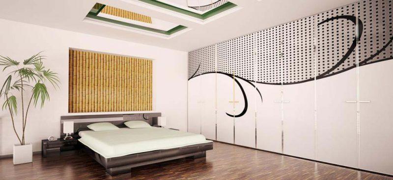 ארון בגדים מודפס לחדר שינה