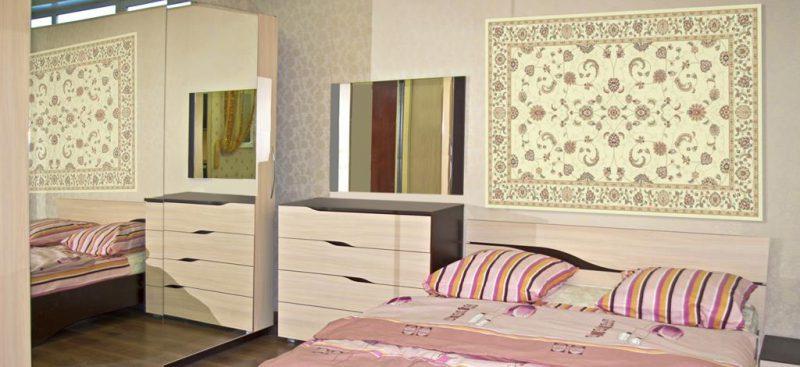 ארון עם מראה מעוצב לחדר שינה
