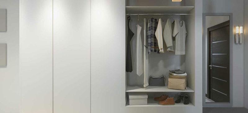 ארון בגדים מעוצב לחדר שינה
